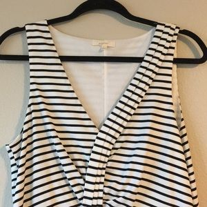 Mystree Dresses - NWOT | Mystree Cotton Stretch BW Dress